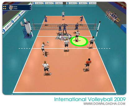 Screens Zimmer 2 angezeig: international volleyball 2010 pc